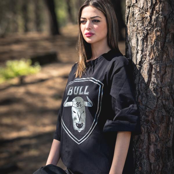 T-shirt lunga Bull95